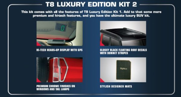 Mahindra TUV300 Luxury Edition Kit 2