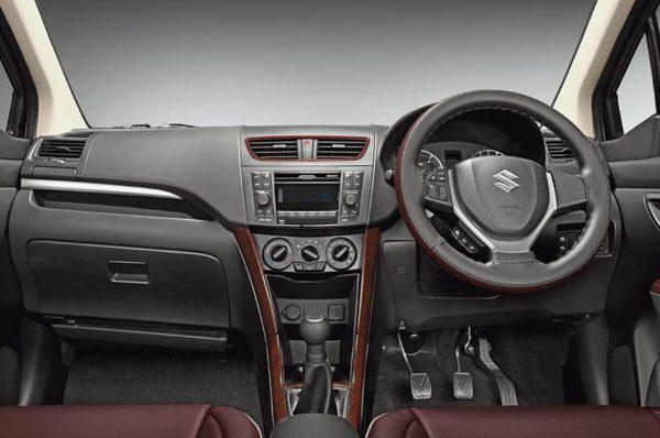Maruti Suzuki Ertiga Limited Edition new interiors
