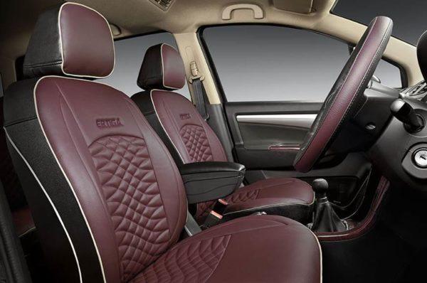 Maruti Suzuki Ertiga Limited Edition new seat covers