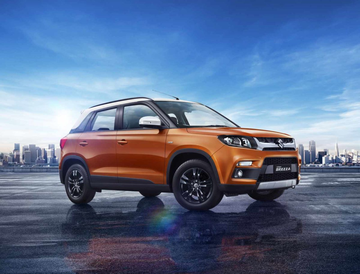Maruti Suzuki Vitara Brezza Gets Enhanced Looks and Auto Gear Shift Option