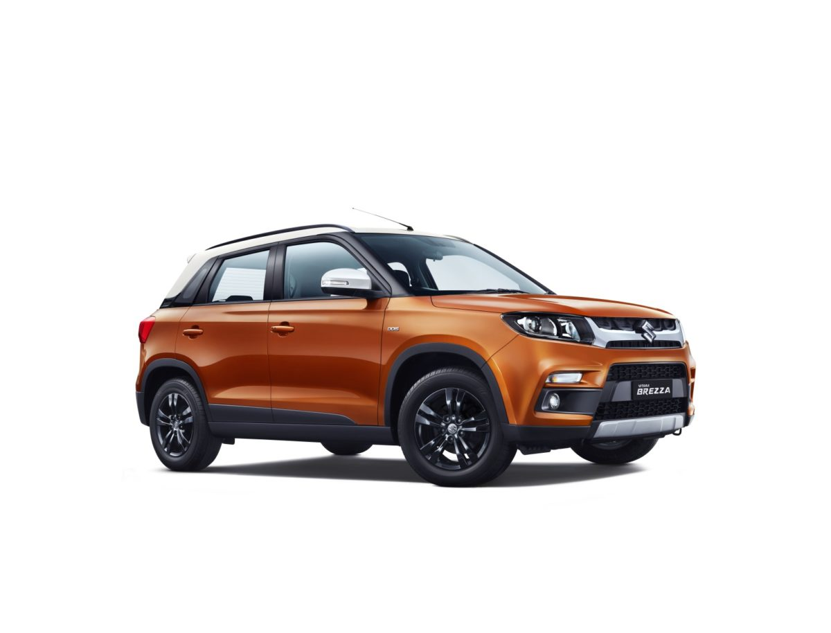 Maruti Suzuki Vitara Brezza Gets Enhanced Looks and Auto Gear Shift Option (2)