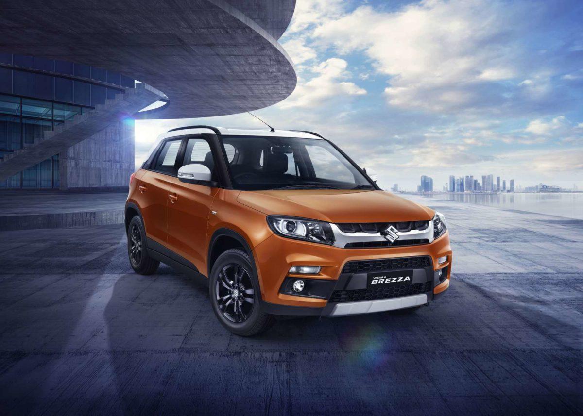 Maruti Suzuki Vitara Brezza Gets Enhanced Looks and Auto Gear Shift Option (3)