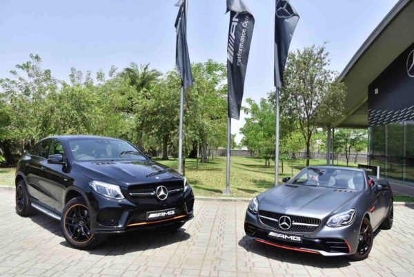 Mercedes AMG GLE 43 4MATIC Coupe 'OrangeArt' and SLC 43 'RedArt' Editions