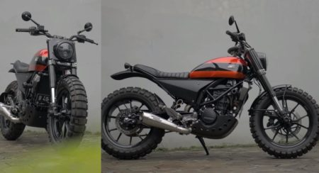 Modified KTM 200 Duke - Feature Image
