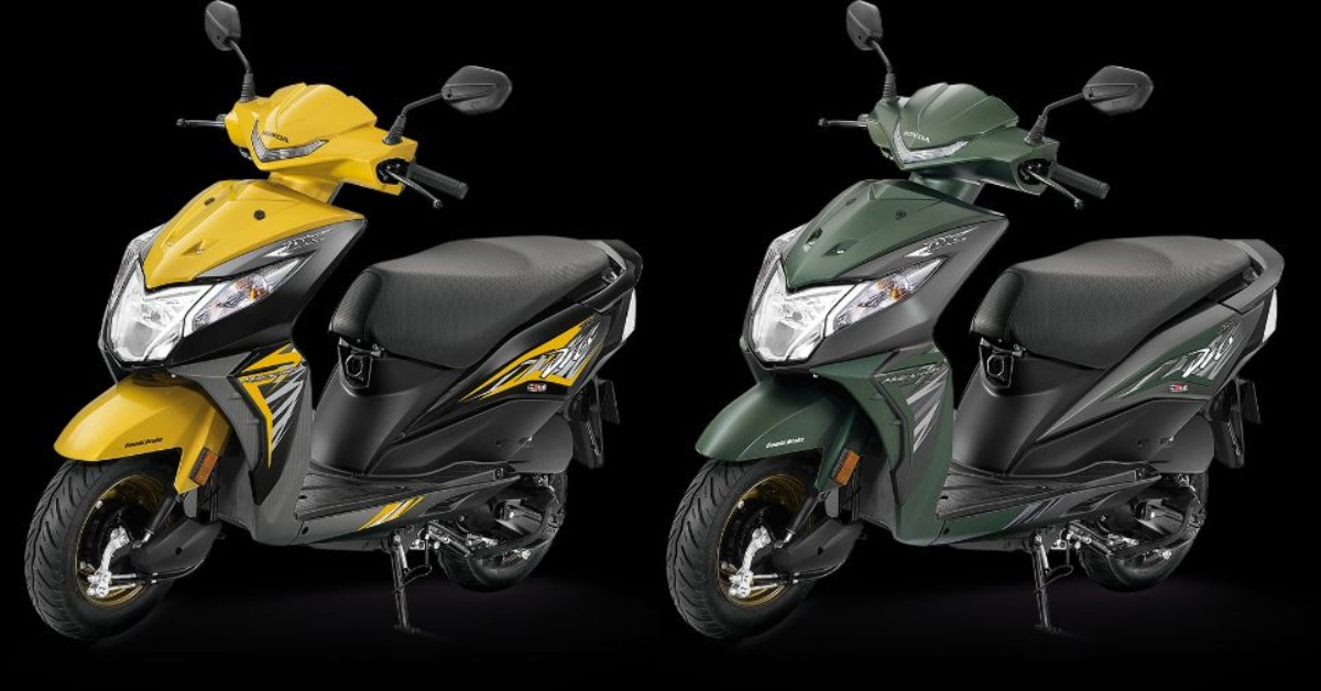New 2018 Honda Dio Launched In India Gets Led Headlamp And Digital