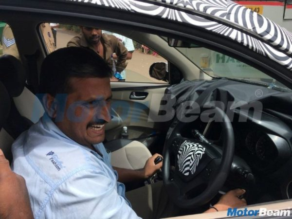 New 2018 Hyundai Santro interior leaked