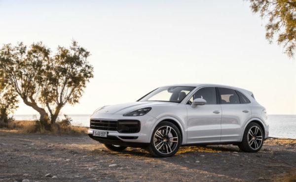 New 2018 Porsche Cayenne Turbo
