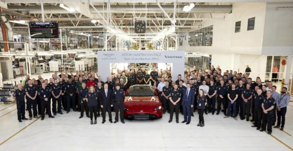 New 2019 Aston Martin Vantage Production Begins (1)