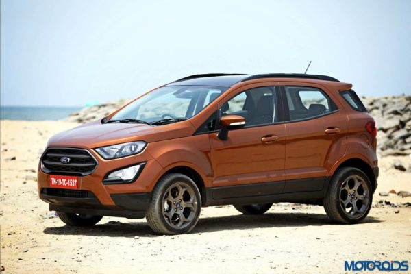 New Ford Ecosport S Ecoboost India Review, Images, Tech