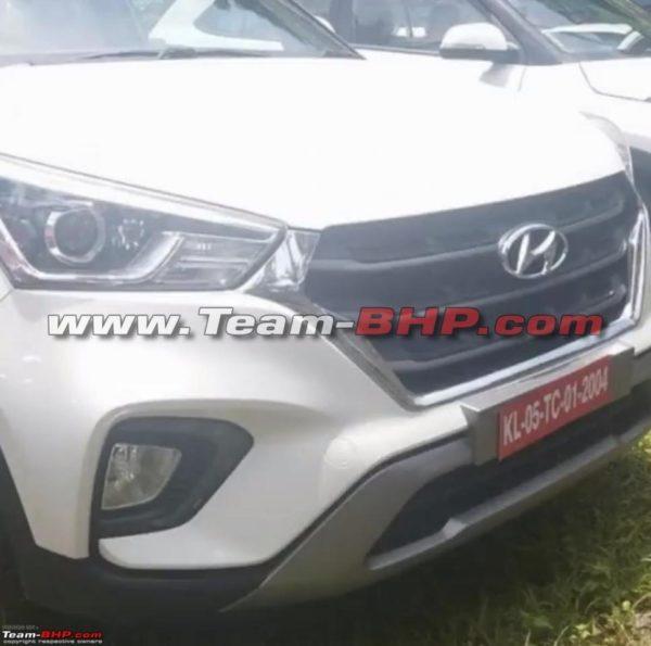 New Hyundai Creta – At Dealership – Spy Images (4)