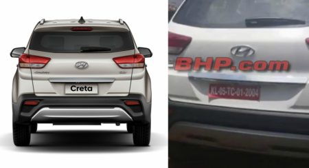 2018 Hyundai Creta Facelift Starts Arriving At Dealerships; Launch Likely To Happen Very Soon