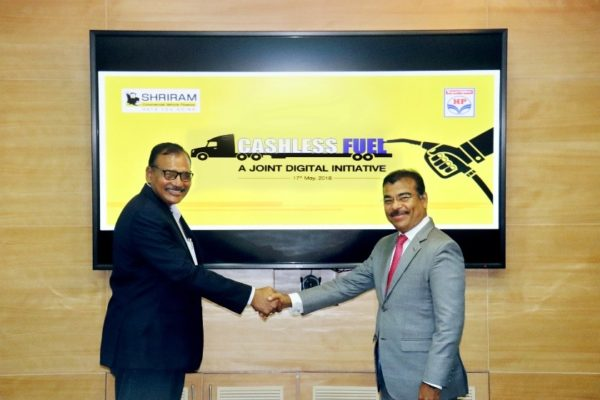 Shriram Transport Finance and HPCL To Offer Cashless Fuel Filling Services