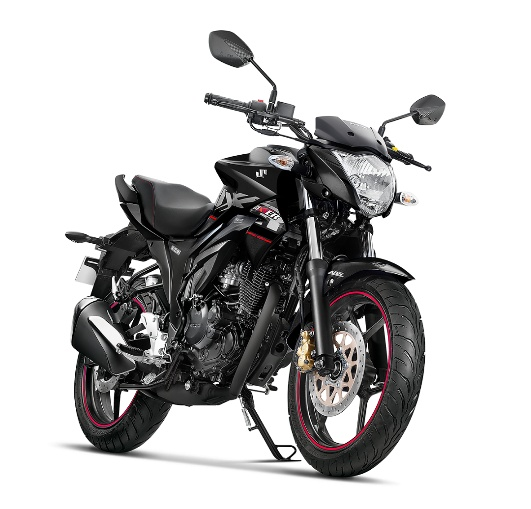 Suzuki Gixxer ABS Glass Sparkle Black