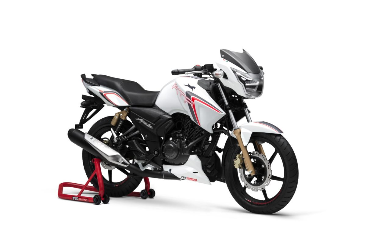 TVS Apache RTR 180 Race Edition Launched In India (1)