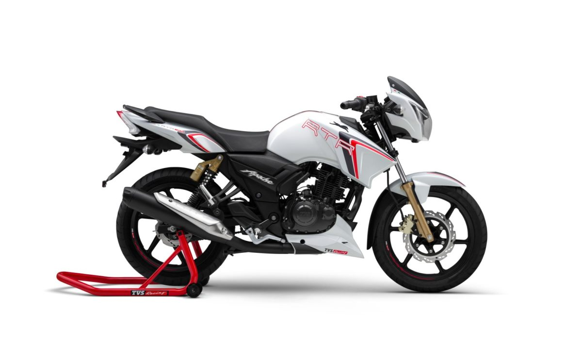 TVS Apache RTR 180 Race Edition Launched In India (2)
