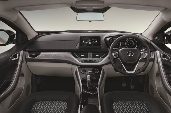 Tata Nexon AMT interior