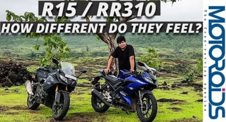Video: Yamaha R15 / TVS Apache RR310 – How Different do They Feel?