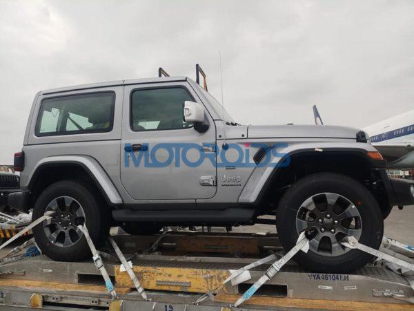 2018 Jeep Wrangler 2 Door And 4 Door Arrive In India (1)