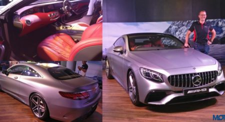 2018 Mercedes-AMG S63 Coupe Launched In India