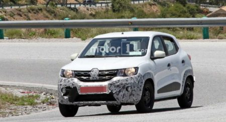 2019 Renault Kwid Facelift Spied (11)