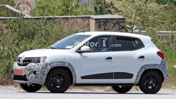 2019 Renault Kwid Facelift Spied (2)