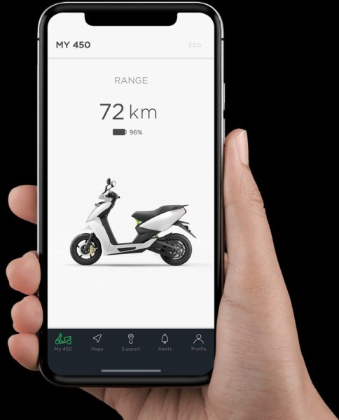 Ather 340 – 450 Electric Smart Scooter (3)