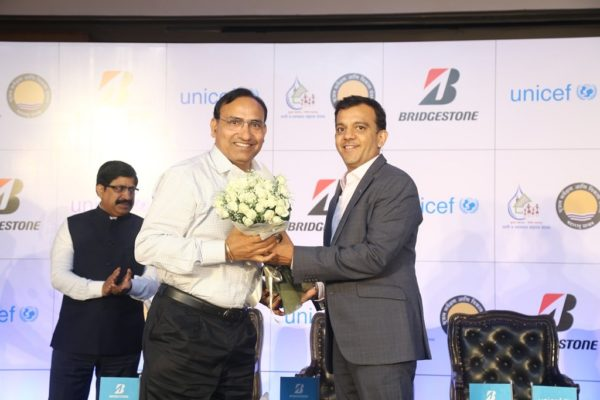 BRIDGESTONE India and UNICEF India join hands for Drops of Hope Project (2)