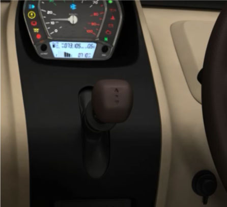 Bajaj Qute Gear shift