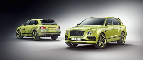 Bentayga Pikes Peak Limited Edition – Exterior with Record Breaker