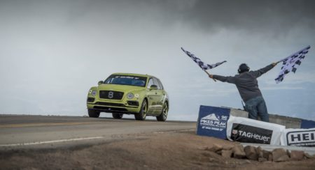Bentley Bentayga smashes Production SUV record at Pikes Peak (1)