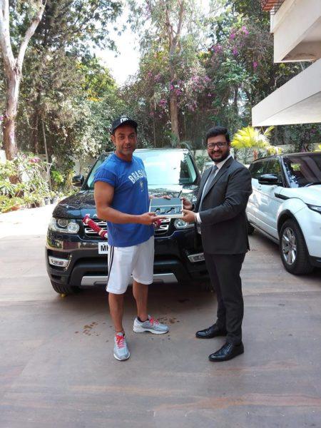 Bobby Deol Buys Range Rover Sport