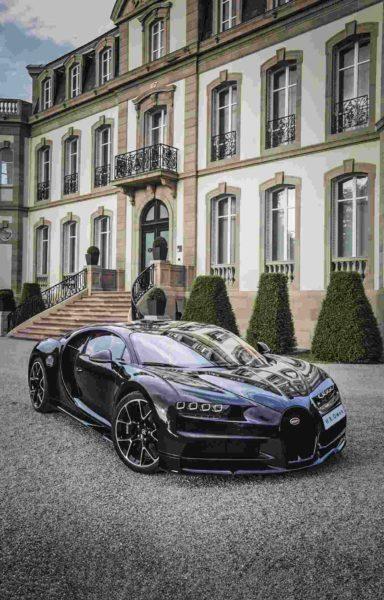 Bugatti Chiron – Carbon Fibre