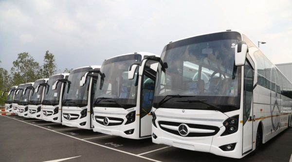 Daimler Buses India – production, finished buses