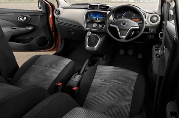 Datsun Go and Go+ facelift interior