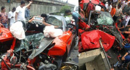 Ferrari California T Crash - Kolkata - Feature Image (1)