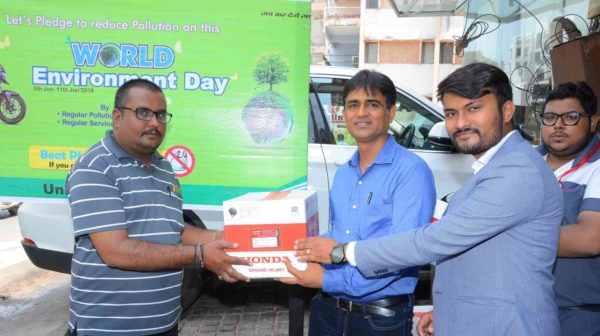 Honda 2Wheelers India celebrates World Environment Day across the nation (1)
