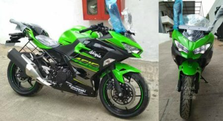 India's First Kawasaki Ninja 400 Has Arrived In Pune - Feature Image