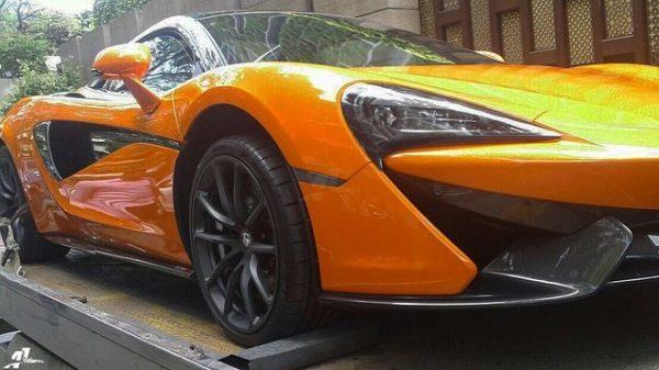 India's first McLaren 570S Spider