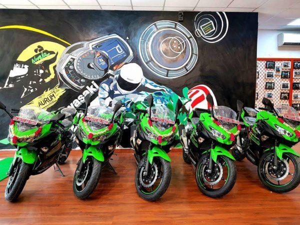 Kawasaki Delhi Delivers Five Ninja 400 Motorcycles In A Single Day (3)