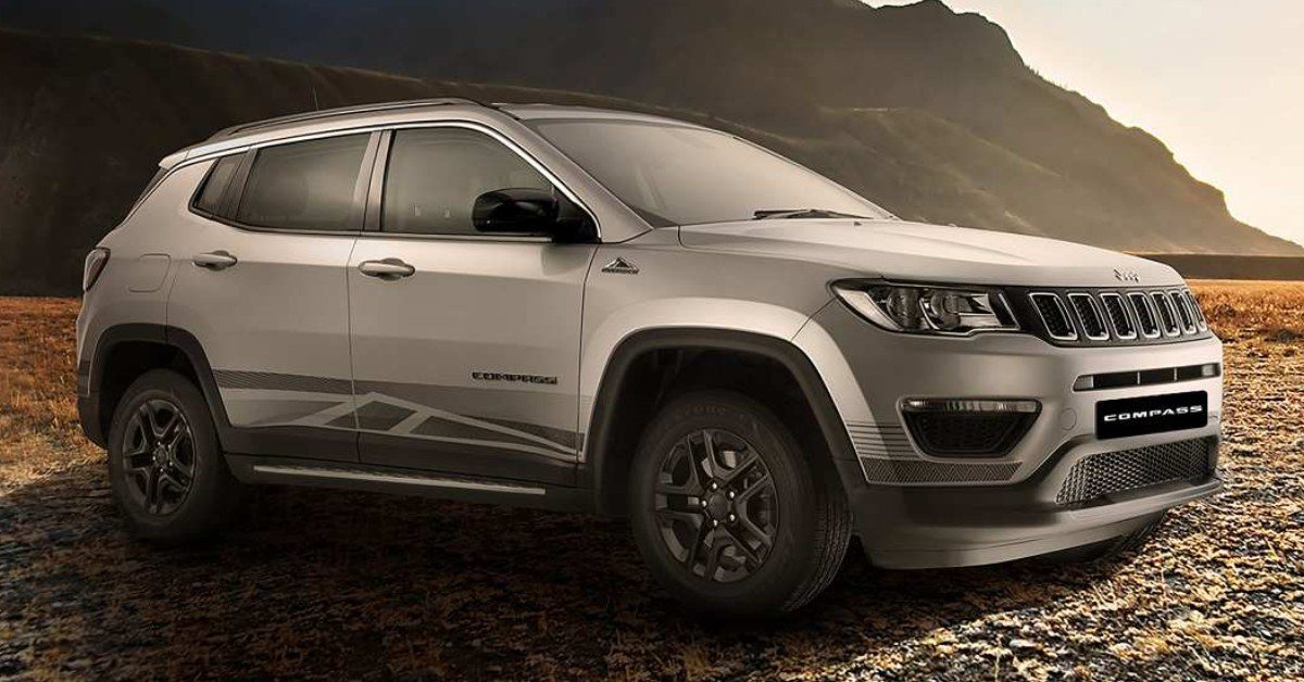 Limited Edition Jeep Compass 'Bedrock' – Feature Image
