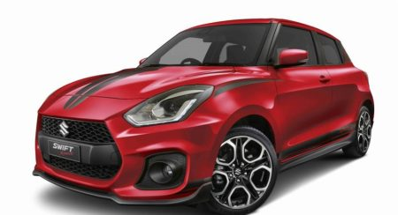 Suzuki Swift Sport Red Devil Edition Comes With A Burning Red Paint