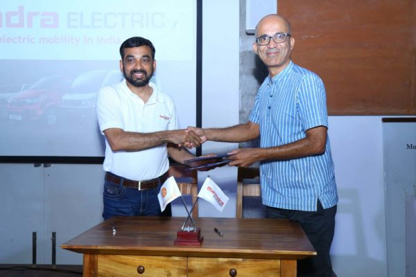 Mahindra Electric and Auroville join hands