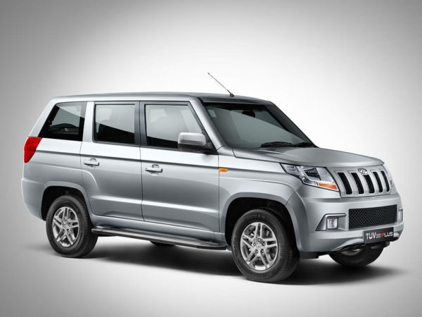 Mahindra TUV300 Plus Official Images (5)
