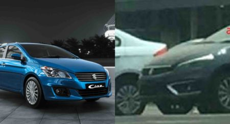 New 2018 Maruti Suzuki Ciaz Facelift Spotted Uncamouflaged Ahead Of Impending Launch