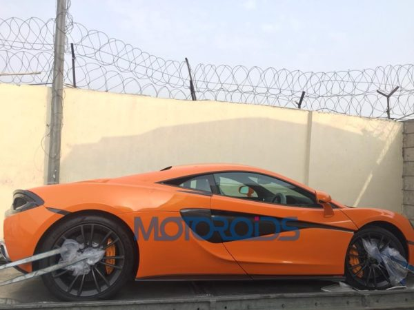 McLaren 570S Reportedly Lands In Delhi (1)