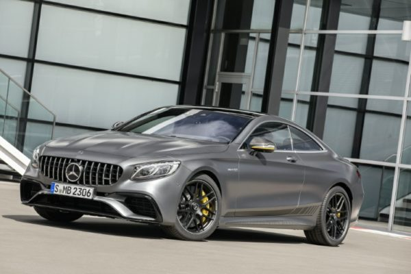 Mercedes AMG S 63 Coupe