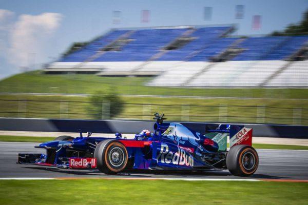 MotoGP Champion Marc Marquez Trades His RC213V For A Scuderia Toro Rosso F1 Car (2)