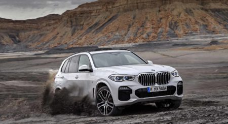 The New BMW X5 gets Diamonds Inside and an Off – Road Mode