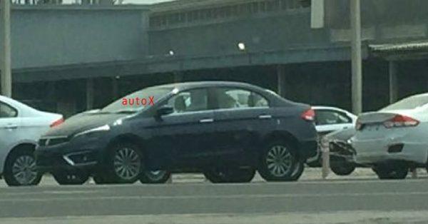 New 2018 Maruti Suzuki Ciaz facelift uncamouflaged