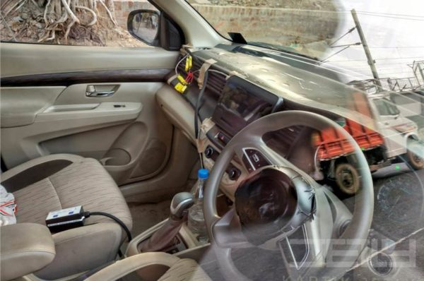 New 2018 Maruti Suzuki Ertiga facelift interior leaked